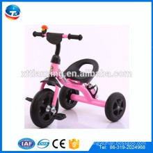 three wheels bicycle kids toys/ride on toys kids cycles wth 3 wheels/steel frame bicycle with three wheels