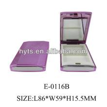 розовый пустой футляр тени для век кастрюлю