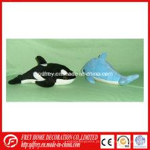 Brinquedo de baleia pelúcia super macio para presente de Natal