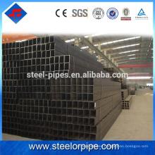 Nuevo 2016 producto q235 de alta resistencia de acero al carbono tubo cuadrado