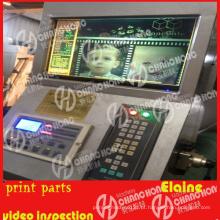 Computador de inspeção de vídeo da máquina de impressão