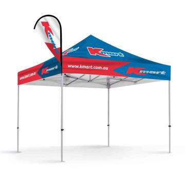 Shop Store Zelt Werbung Aktivität Zelt mit Flaggen