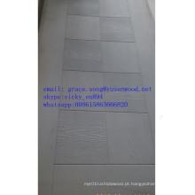 Preço de pele interior decorativo por atacado da pele da porta do MDF do folheado