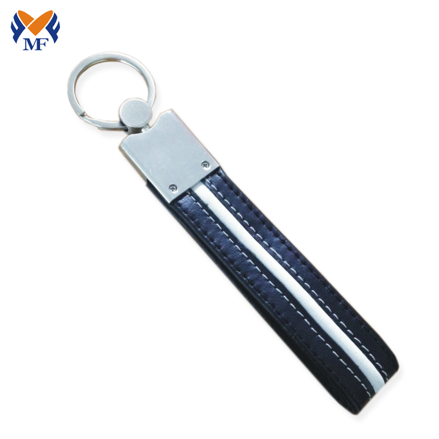 Car Keychain Leather