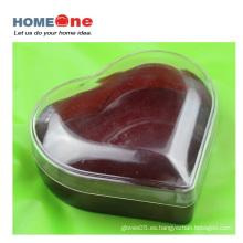 Gran forma de corazón plástico Candy Container