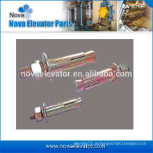 Elevador Tornillos de expansión, tornillos de elevación de acero inoxidable, tornillo de anclaje del elevador