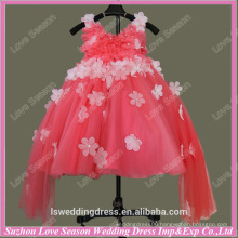 RP0064 Ball gown full tulle real sample flower girl dress patterns girls party dress birthday party dress