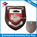 2016 latest design award wooden shield trophy