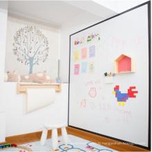 Tableau blanc projetable de tableau d'apprentissage magnétique