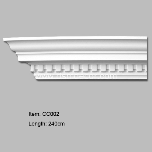 China polyurethane dentil cornice moulding manufacturers Crown molding india
