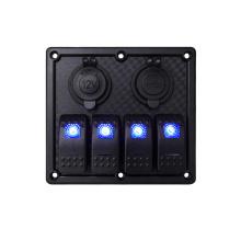 Genuine Marin elwxtric acrylic alexa clip vehicle switch panel patrol coche waterproof RV switch panel
