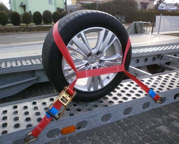 Application for Tire Straps