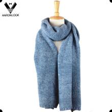 2016 Новый зимний акриловый вязаный шарф из меланжевой пряжи