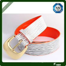 High Quality PU Belt With Printed Pattern