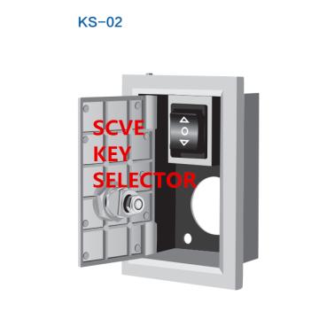 Interruptor de llave de persiana enrollable KS-01 a KS-04