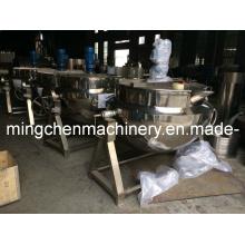 China De primeira classe de qualidade Agitação Jacketted Cozinhando Chaleira 0086-13600670423