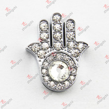 10mm Crystal Hand Slide Charm for Bracelet (JP10)