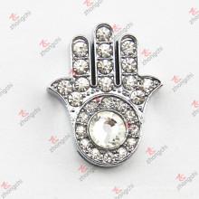 10 milímetros de cristal mão slide charme para pulseira (JP10)
