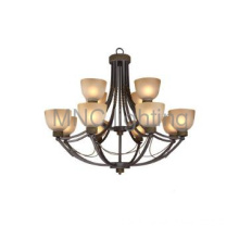 quality pendant lamps for American marke 12L matted galss shade