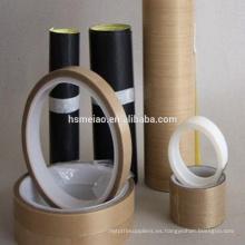 Cinta adhesiva de Teflon PTFE de alta temperatura