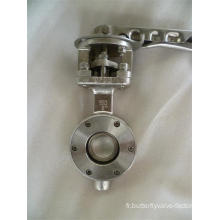 Valve papillon de type Wafer haute performance