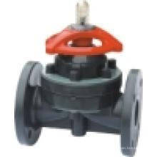 Мембранный клапан, фланцевый мембранный клапан / PTFE