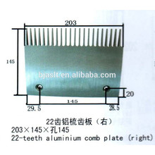 escalatorcomb plate/escalator spare parts