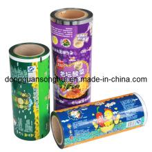 Embalaje de fideos instantáneos Película / Película de rollo de fideos / Película de alimentos plásticos