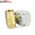 Gutentop Factory Directly Provide Quality Motorized Water Brass Solenoid Valve