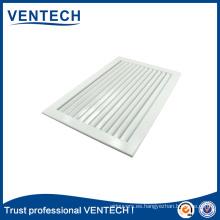 Sistemas de HVAC Ventilación Láminas fijas de aluminio Rejilla de retorno