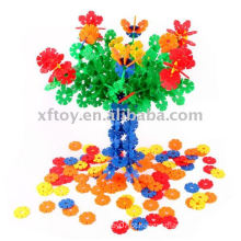 Brinquedo colorido do floco da neve