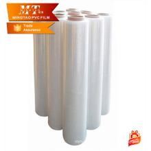 Película pvc de alongamento de 0,41 mm para colchão ou embalagem de sofá