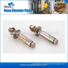 Hochwertiger Hot-Dip- oder Zink-Beschichtungsstahl oder 316 Edelstahl-Hebe-Metall-Ankerbolzen