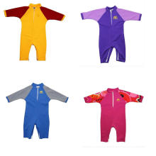 Sun Protective Baby Sun Swimsuit in Different Colors