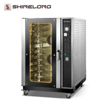 (Ce Approval) High Quality 3/10-Tray Countertop Commercial Gas Convection Oven