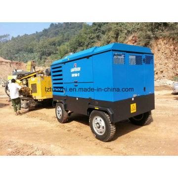 Compressor de ar diesel portátil Atlas Copco-Liutech 570cfm 17bar