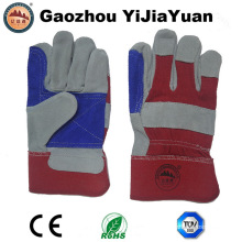 Verstärkung Palm Kuh Split Leder Arbeitshandschuh