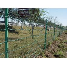 Alambre de púas recubierto de PVC / alambre de púas