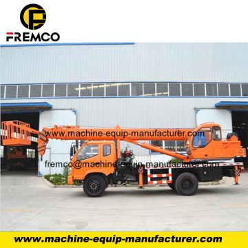 Powerful Mobile Straight Boom Crane for Road Light