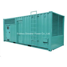 Soundproof Diesel Generator 1000kVA 800kw with Perkins Model 4008tag2a Engine