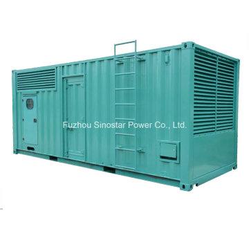 800kw 1000kVA Mtu Containerized Soundprof Diesel Generator