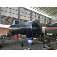 double storage tank oil tank fabrication