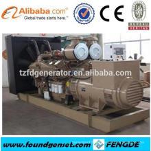 CE aprobó el generador de gas serie TBG 250 kva