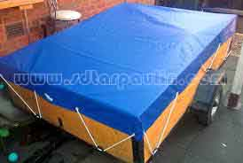 Dust Resistant Tarp Trailer Cover