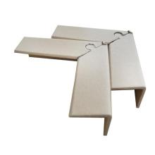 L Shape paper packing corner protectors kraft paper pallet edge protector