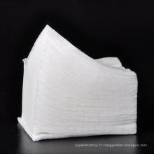 Tampons faciaux jetables de coton de coton cosmétique de coton