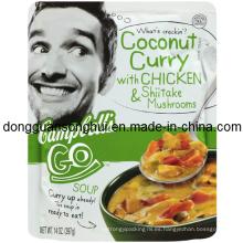 Bolsa de plástico de curry / bolsa de acondicionamiento de condimentos / bolsa de condimentos