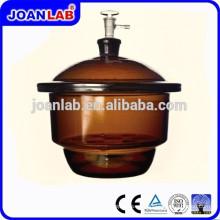 JOAN LAB Desecador de vacío de vidrio con placa de porcelana