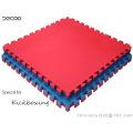 Blue-red Color 50-55 Degree T Pattern Tatami Judo Mat
