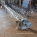 Large angle screw conveyor